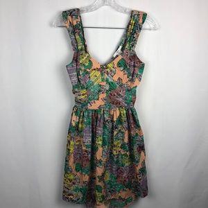 BAR lll Open back tank dress